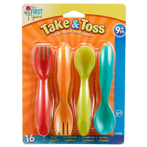 The First Years Take & Toss 16 Piece Infant Spoons - Baby Feeding