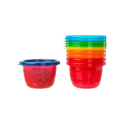 The First Years Take & Toss 4.5Oz Snack Cups 6 Pk - Baby Feeding