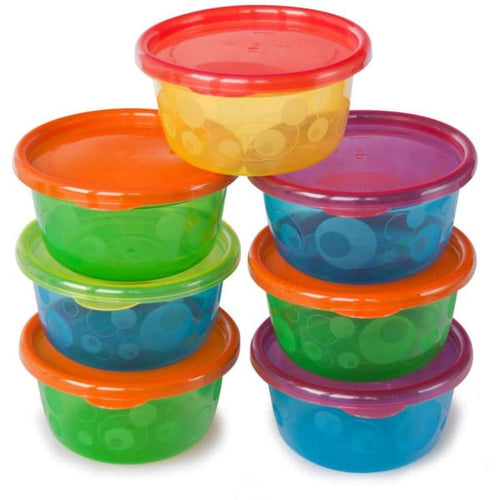 The First Years Take & Toss 8Oz Toddler Bowls W/ Lids 6 Pk - Baby Feeding
