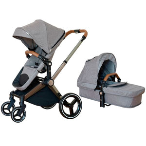 Venice Child Kangaroo Stroller - Granite - Convertible Stroller