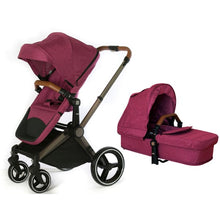Load image into Gallery viewer, Venice Child Kangaroo Stroller - Radiant Orchid - Convertible Stroller