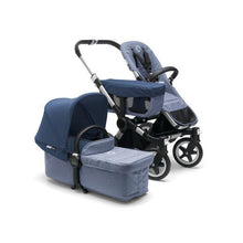 Load image into Gallery viewer, Bugaboo Donkey² Mono Complete Set Aluminum / Blue Melange - Sky Blue