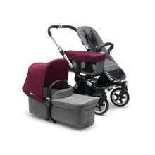 Load image into Gallery viewer, Bugaboo Donkey² Mono Complete Set Aluminum / Grey - Red