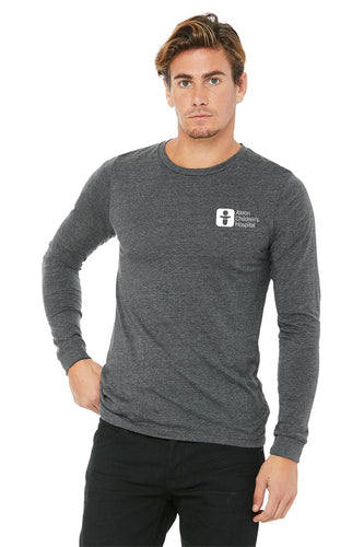 Unisex Long Sleeve Tri-blend Tee Shirt