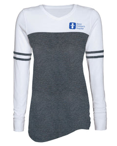 Women's Long Sleeve Jersey Tee Shirt