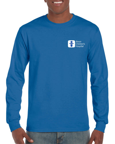 Unisex Long Sleeve 50/50 Blend Tee Shirt