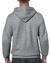 Load image into Gallery viewer, Unisex Full Zip Hooded Sweatshirt