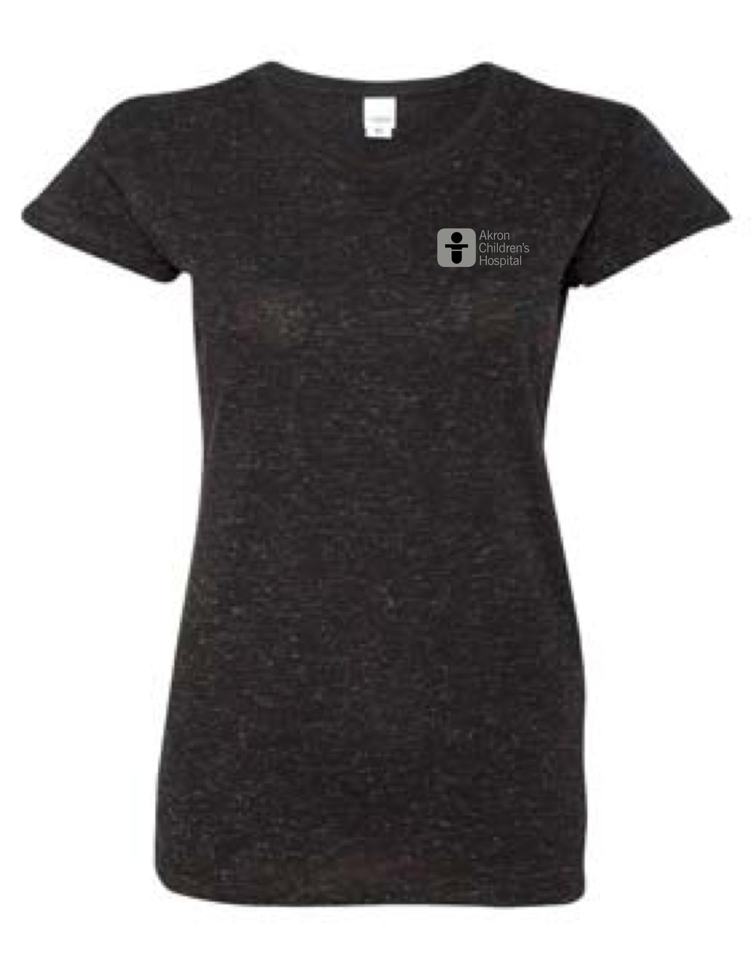 Women's Glitter Short Sleeve Tee Shirt