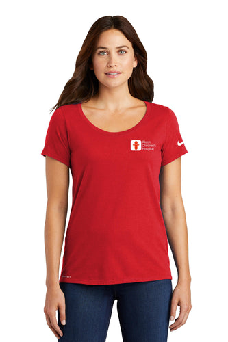Nike Women's Scoop Neck Tee Shirt
