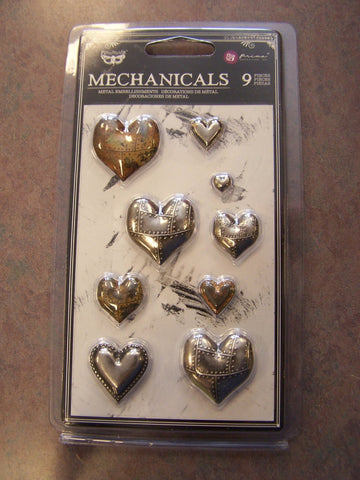 Mechanical Metal Hearts