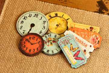 Wood Clocks & Tickets Zephyr