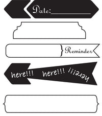 Clear Acrylic Stamp - Lifetime #4