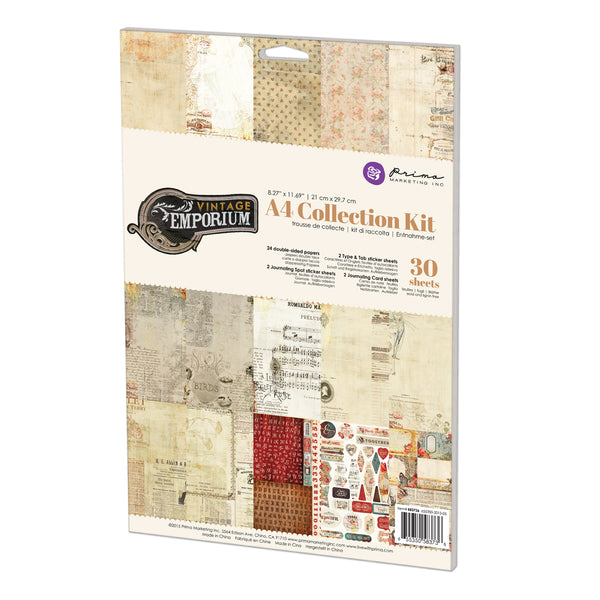 A4 Collection Kit-Vintage Emporium 655350583736