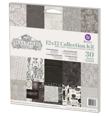 12x12 Collection Kit-Salvage District 655350584337