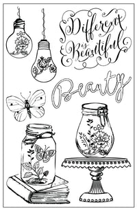 4x6 Cling Stamp-Salvage District 655350584702