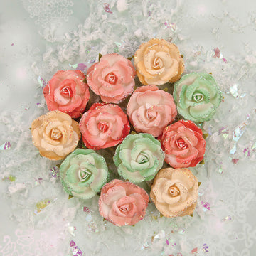 Sweet Peppermint Flowers - Snow Roses