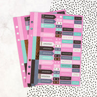 My Prima Planner Embellishments - Mini Stickers
