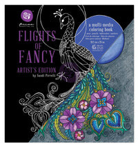 Sandi Pirrelli Coloring Book - Flights Of Fancy 655350592097