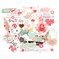 MPP Embellishments - Be Happy - Ephemera Pack