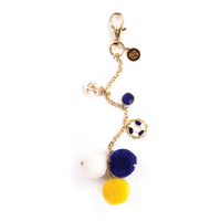 My Prima Planner Embellishments - Hey Sailor! Pom Pom Key Chain 655350593353