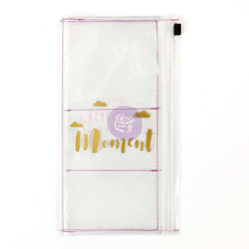 PTJ Clear Pouch - Enjoy Every Moment 655350593445