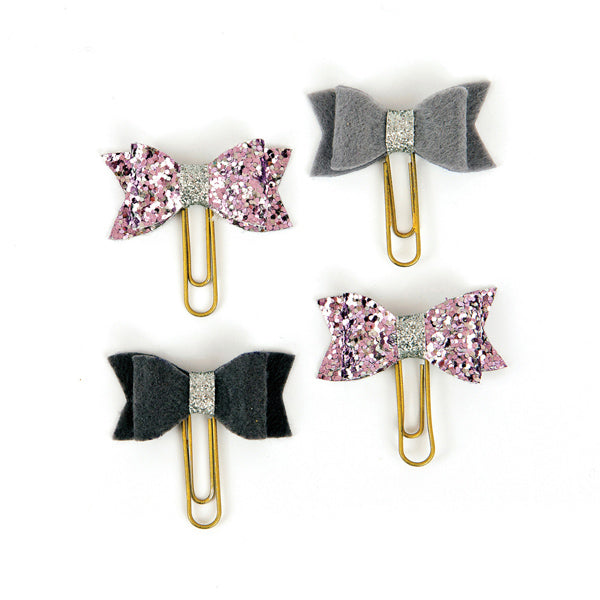 My Prima Planner Clips - Silver Violet 655350593711
