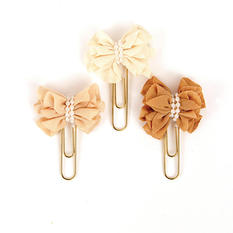 My Prima Planner Clips - Sweet Toffee 655350593773