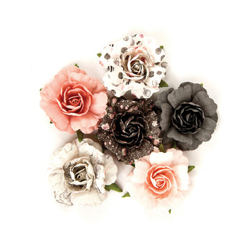 Rose Quartz Flowers - Pr 655350595074