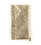 My Prima Planner Pencil Pouch - Gold glitter 655350595319