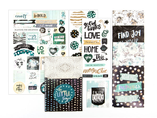 Zella Teal - Planner Goodie Pack 655350595951