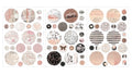 Amelia Rose - Circle Stickers 655350596699