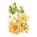 Amber Moon Flowers - Pumpkin 655350596989
