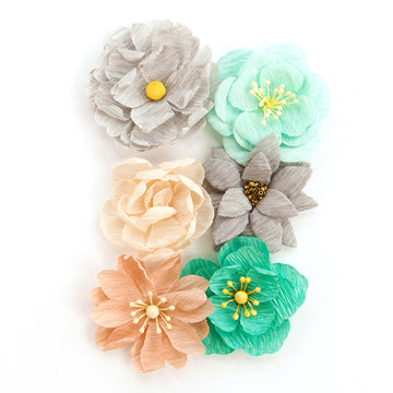 "Zella Teal- Flowers ""Made With Love"" 655350597177"