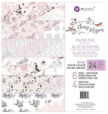 Cherry Blossom - 12x12 Paper Pad 655350597818