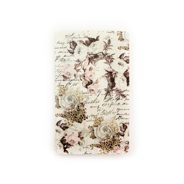 Notebook Inserts Personal Size - Floral & Script