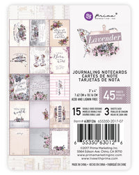 Lavender - 3x4 Journaling Card 655350630126