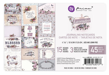 Lavender - 4x6 Journaling Card 655350630133