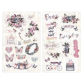 Lavender - Chipboard Stickers