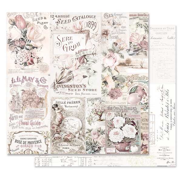 Lavender Frost 12x12 Sheet - My Lovely Garden
