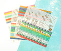 Julie Nutting Planner Embellishents - Washi Sheets