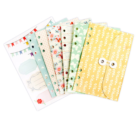Julie Nutting  Planner Pocket & Labels 1