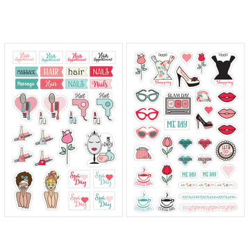 Julie Nutting  Planner Stickers - Beauty 655350912024