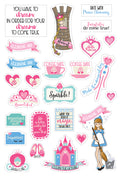 Julie Nutting Planner Stickers - Fairytales 655350912147