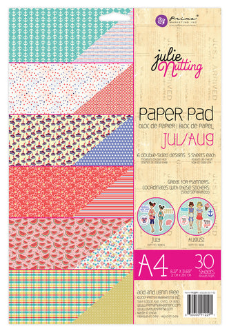 Julie Nutting  A4 Paper Pad  655350912291
