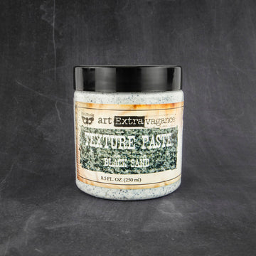 Art Extravagance - Texture Paste - Black Sand (8.5 fl. oz.)