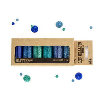Art Ingredients - Glitter Set - Caribbean Sea