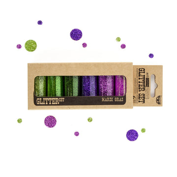 Art Ingredients - Glitter Set - Mardi Gras