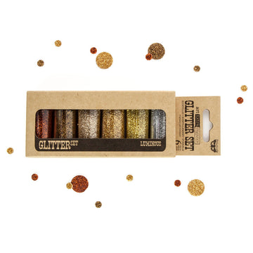 Art Ingredients - Glitter Set - Luminous