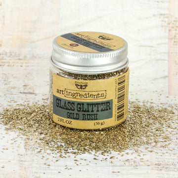 Art Ingredients-Glass Glitter: Gold Rush 56g