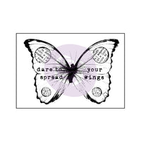 Wood Mounted Stamps-Butterfly 2
